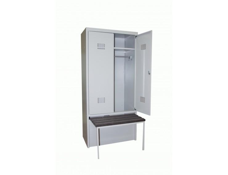 ШГС/600 ВСК шкаф с ящиком под обувь и выдвижной скамьёй
