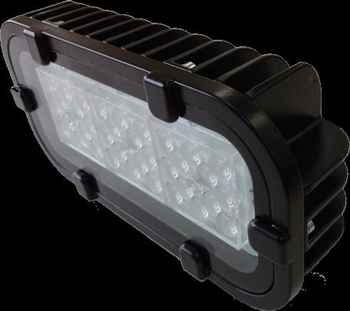Светодиодный прожектор FWL 12-40-50-Г65 RGBW Черный корпус